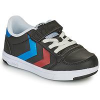 Schoenen Kinderen Lage sneakers Hummel STADIL LIGHT QUICK JR Zwart
