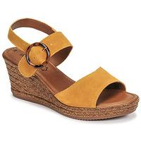 Schoenen Dames Sandalen / Open schoenen S.Oliver SAPINO Mosterd