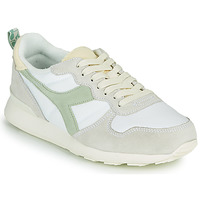 Schoenen Dames Lage sneakers Diadora CAMARO ICONA WN Wit / Groen