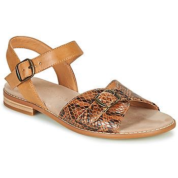 Schoenen Dames Sandalen / Open schoenen Karston XABERO Camel / Slang