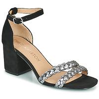 Schoenen Dames Sandalen / Open schoenen Karston POMELOS Zwart / Zilver