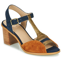 Schoenen Dames Sandalen / Open schoenen Karston LILIAN Bruin / Marine