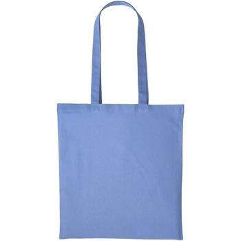 Tassen Tote tassen / Boodschappentassen Nutshell  Korenbloem blauw