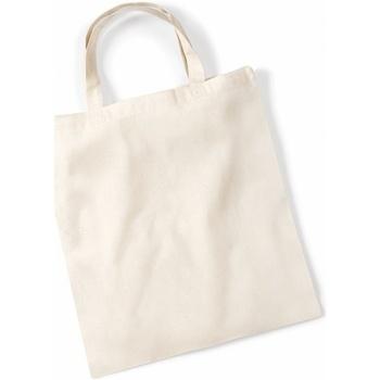 Tassen Tote tassen / Boodschappentassen Westford Mill W100 Natuurlijk