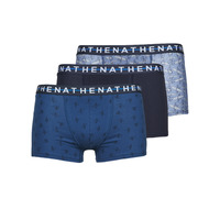 Ondergoed Heren Boxershorts Athena EASY STYLE X3 Blauw / Marine / Blauw