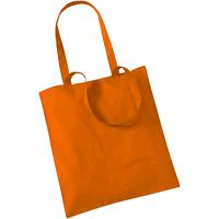 Tassen Tote tassen / Boodschappentassen Westford Mill W101 Oranje