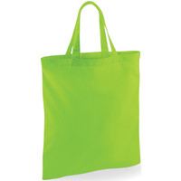 Tassen Tote tassen / Boodschappentassen Westford Mill W101S Kalk groen