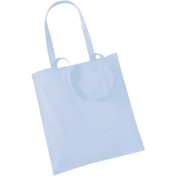 Tassen Tote tassen / Boodschappentassen Westford Mill W101 Pastelblauw
