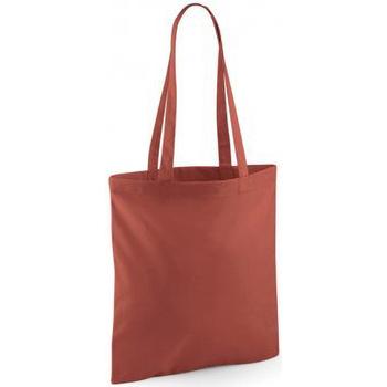 Tassen Tote tassen / Boodschappentassen Westford Mill W101 Oranje Roest