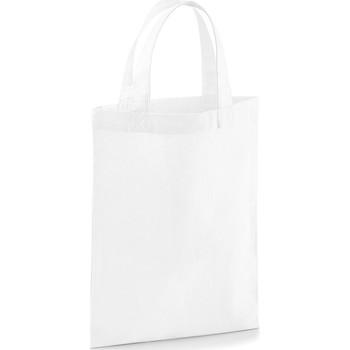 Tassen Tote tassen / Boodschappentassen Westford Mill W103 Wit