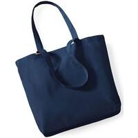 Tassen Tote tassen / Boodschappentassen Westford Mill W180 Marineblauw