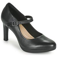Schoenen Dames pumps Clarks AMBYR SHINE Zwart
