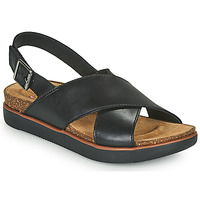 Schoenen Dames Sandalen / Open schoenen Clarks ELAYNE CROSS Zwart