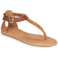Schoenen Dames Sandalen / Open schoenen Clarks KARSEA POST Bruin / Camel