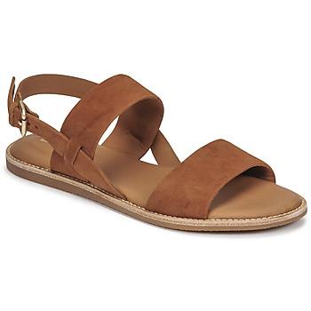 Schoenen Dames Sandalen / Open schoenen Clarks KARSEA STRAP Camel