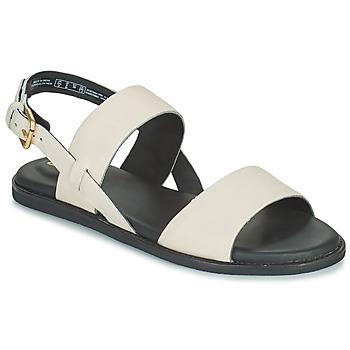 Schoenen Dames Sandalen / Open schoenen Clarks KARSEA STRAP Wit
