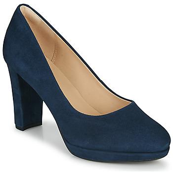 Schoenen Dames pumps Clarks KENDRA SIENNA Blauw