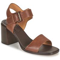 Schoenen Dames Sandalen / Open schoenen Clarks LANDRA70 STRAP Bruin