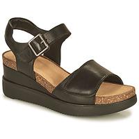 Schoenen Dames Sandalen / Open schoenen Clarks LIZBY STRAP Zwart