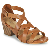 Schoenen Dames Sandalen / Open schoenen Clarks LORENE POP Camel