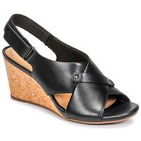 Schoenen Dames Sandalen / Open schoenen Clarks MARGEE EVE Zwart