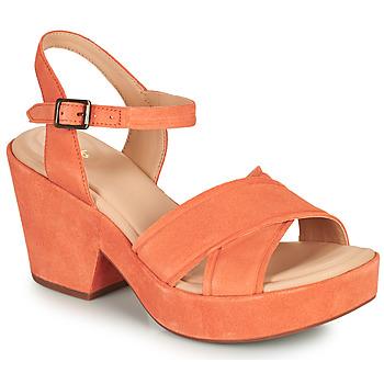 Schoenen Dames Sandalen / Open schoenen Clarks MARITSA70STRAP Koraal