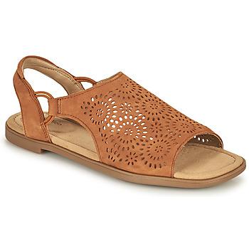 Schoenen Dames Sandalen / Open schoenen Clarks REYNA SWIRL Camel