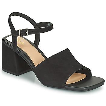Schoenen Dames Sandalen / Open schoenen Clarks SHEER65 BLOCK Zwart