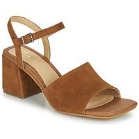 Schoenen Dames Sandalen / Open schoenen Clarks SHEER65 BLOCK Camel