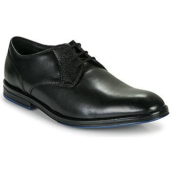 Schoenen Heren Derby Clarks CITISTRIDELACE Zwart