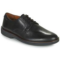 Schoenen Heren Derby Clarks MALWOOD PLAIN Zwart