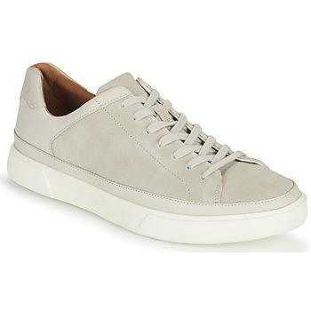 Schoenen Heren Lage sneakers Clarks UN COSTA TIE Wit