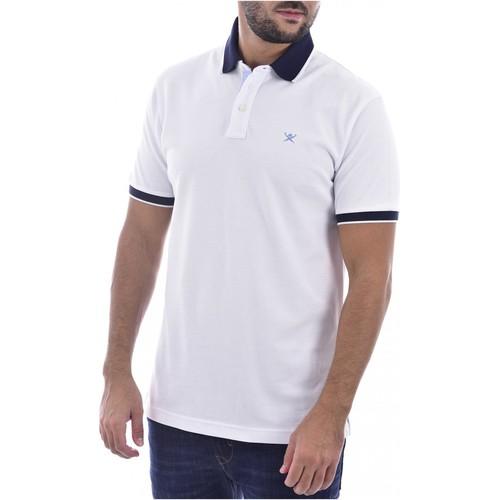 Textiel Heren T-shirts & Polo's Hackett HM562698 Wit
