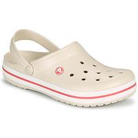 Schoenen Dames Klompen Crocs CROCBAND Beige / Koraal