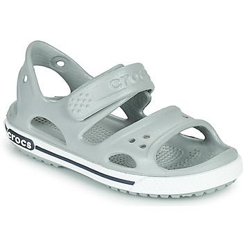Schoenen Kinderen Sandalen / Open schoenen Crocs CROCBAND II SANDAL PS Grijs