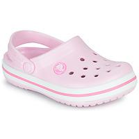 Schoenen Meisjes Klompen Crocs CROCBAND CLOG K Roze