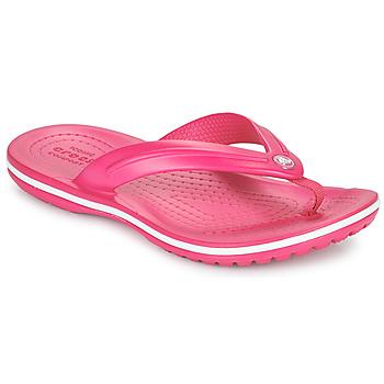 Schoenen Kinderen Teenslippers Crocs CROCBAND FLIP GS Roze