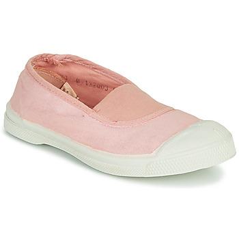 Schoenen Meisjes Lage sneakers Bensimon TENNIS ELASTIQUE Roze