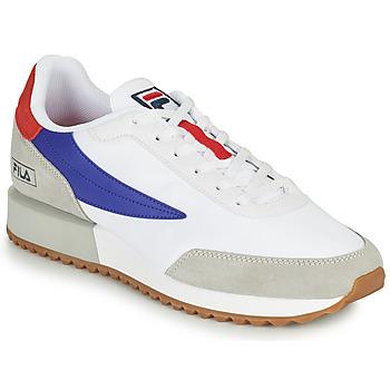 Schoenen Heren Lage sneakers Fila RETRONIQUE Wit / Blauw / Rood