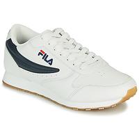 Schoenen Heren Lage sneakers Fila ORBIT LOW Wit / Blauw
