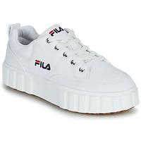 Schoenen Dames Lage sneakers Fila SANDBLAST C WMN Wit