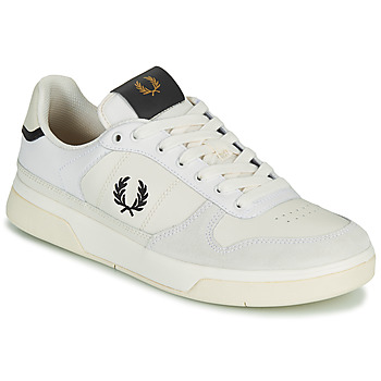 Schoenen Heren Lage sneakers Fred Perry B300 Wit