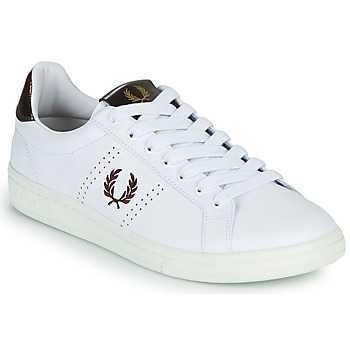 Schoenen Heren Lage sneakers Fred Perry B721 Wit