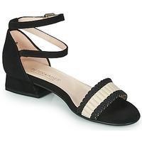 Schoenen Dames Sandalen / Open schoenen Peter Kaiser PUERTO Zwart