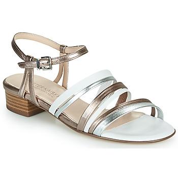 Schoenen Dames Sandalen / Open schoenen Peter Kaiser PATIA Brons / Wit