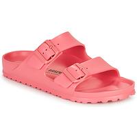 Schoenen Dames Leren slippers Birkenstock ARIZONA EVA Roze