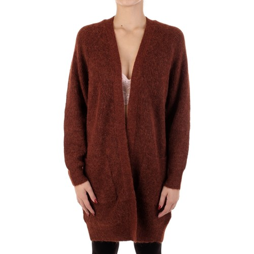 Textiel Dames Vesten / Cardigans Selected 16074480 Mattone