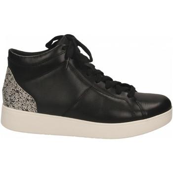 Schoenen Dames Hoge sneakers FitFlop RALLY GLITTER black