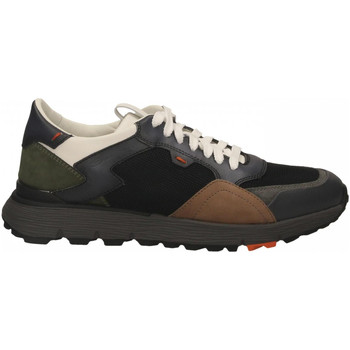 Schoenen Heren Lage sneakers Santoni REED-WSNN40 antracite-nero