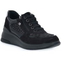 Schoenen Dames Lage sneakers Enval LEOL NERO Nero